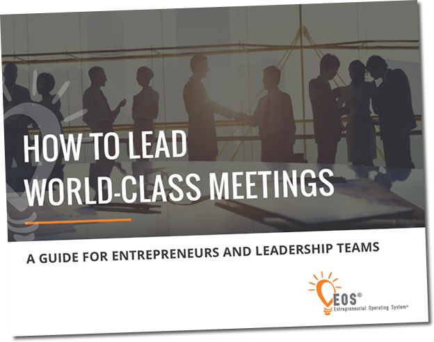 How To Lead Word-Class Meetings Cover